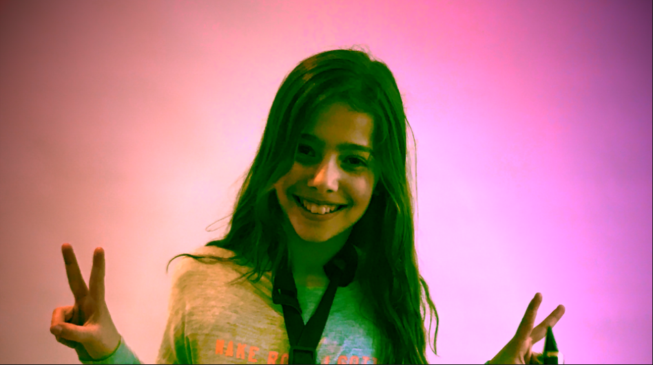 "Lorena speelt ""Don't wanna know"" van Maroon 5."