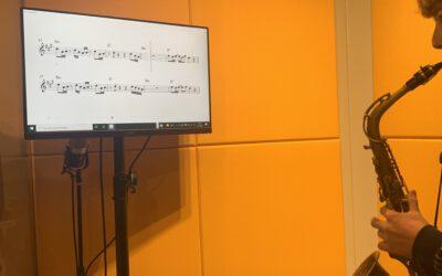 Goudse SAxofoonschool Is digitaal